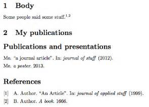 How to write a bibliography with 2 authors
